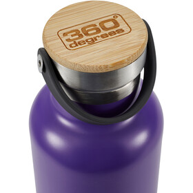 360° degrees Vacuum Insulated Drink Bottle 750ml Purple